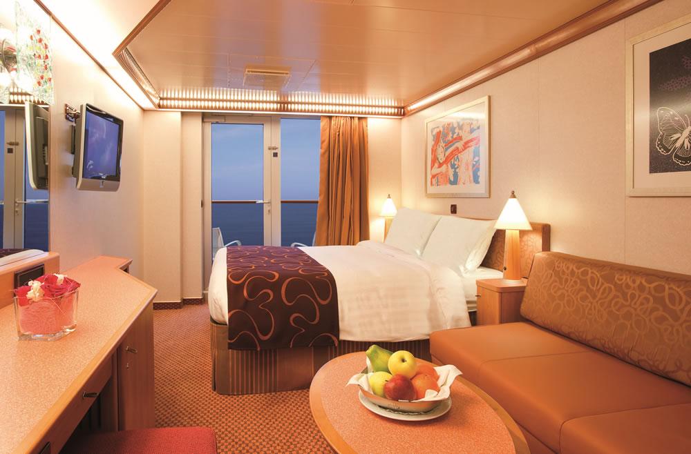 Ponte camelia della nave costa deliziosa costa crociere for Cabine di giglio selvatico