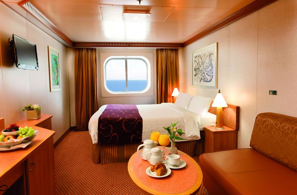 categorie e cabine della nave costa fascinosa, costa crociere