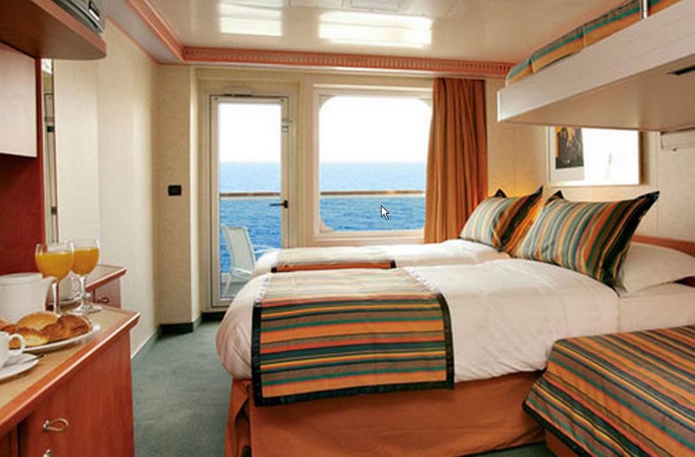 Categorie e cabine della nave costa diadema costa for 2 piani piano cabina storia