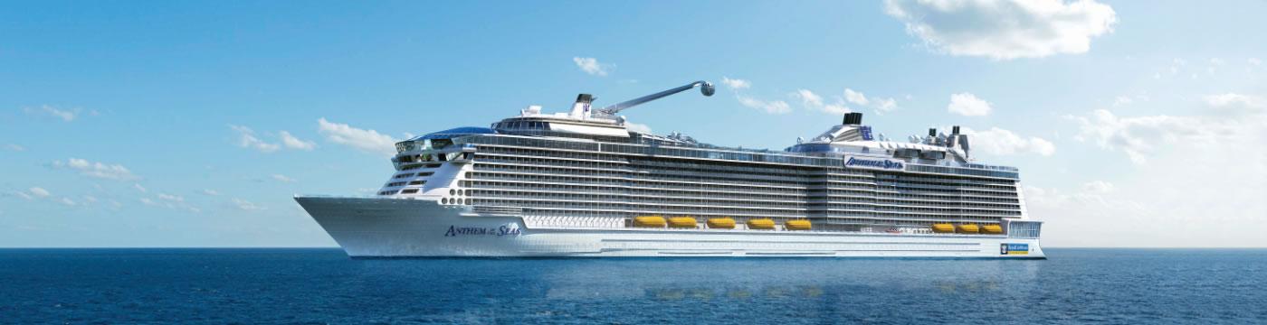 Calendario Crociere Cagliari 2020.Calendario Di Navigazione Anthem Of The Seas Royal