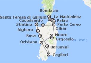 Sardegna e Francia (Corsica)