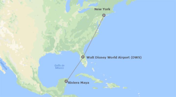 Stati uniti e messico new york walt disney world orlando for Pernottamento new york