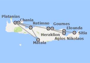 offerte di viaggi a chania da ? 311 - logitravel.it - Migliore Zona Soggiorno Creta 2