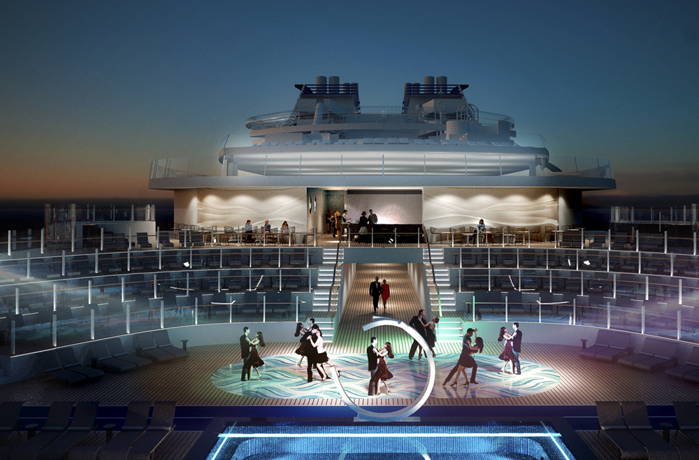 Risultati immagini per MSC Meraviglia porta in mare gli spettacoli del Cirque Du Soleil
