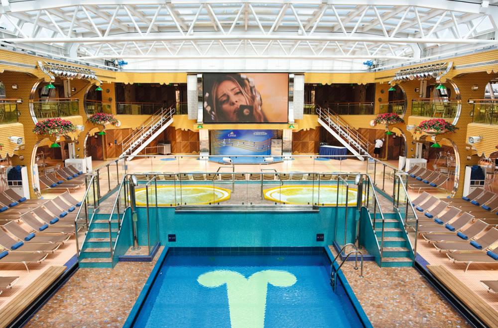 Costa favolosa piscina coperta casamia idea di immagine - Costa luminosa piscine ...