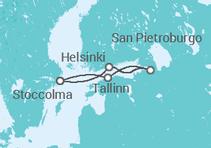 Capitali Baltiche con soggiorno a Stoccolma