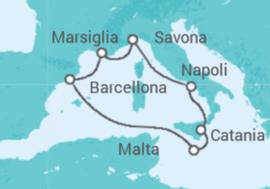 crociera costa mediterraneo