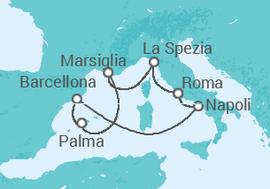Crociera Mediterraneo con soggiorno a Barcellona da € 1.272 . Nave ...