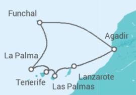 Crociera Isole Canarie con soggiorno a Tenerife da € 306 . Nave ...