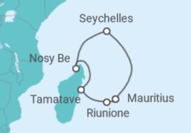 Crociera crociera seychelles emadagascar con soggiorno for Soggiorno alle maldive
